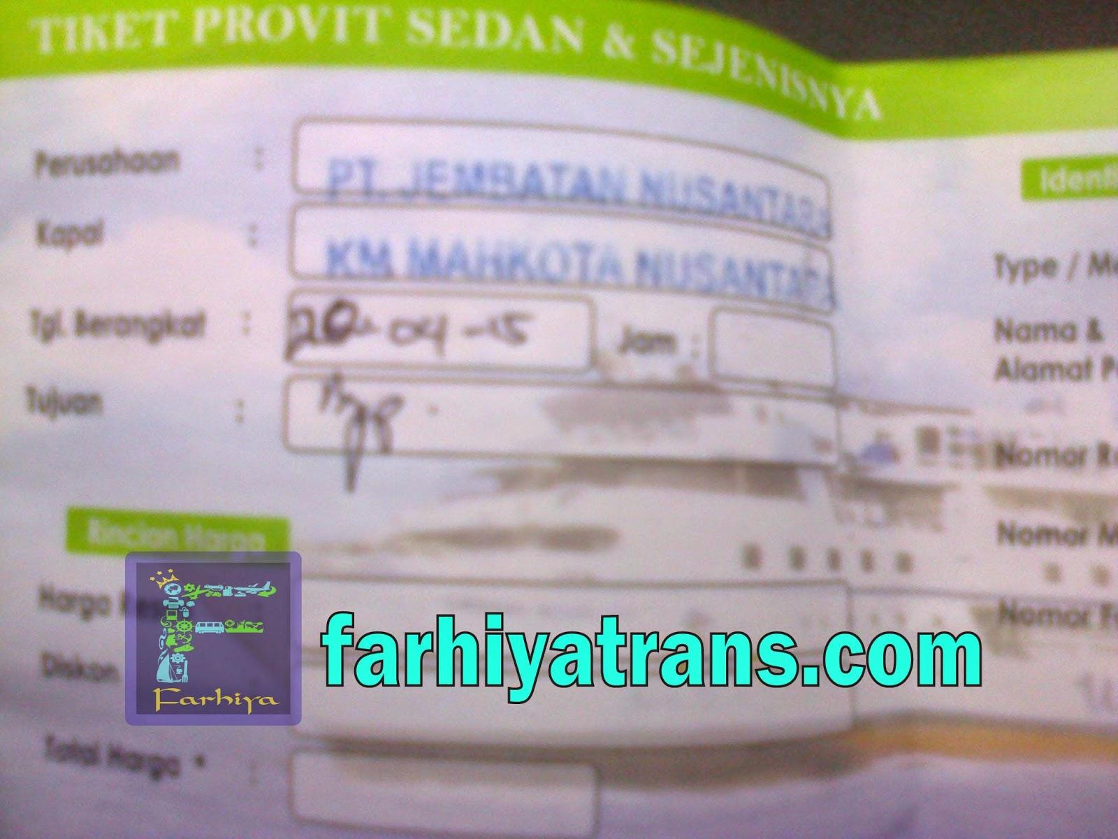 tiket pengiriman kendaraan surabaya