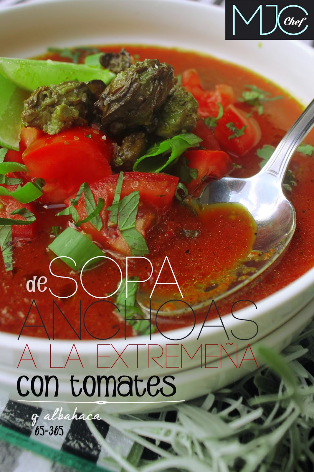 Sopa de anchoas