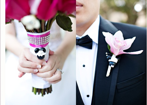 Mickey Details - Disneyland Wedding {Sarina Love Photography}