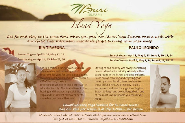 Island Yoga at Buri Resort and Spa