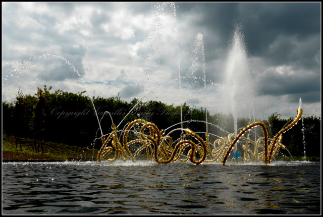 Bosquet du théâtre d'eau Versailles Othoniel Benech