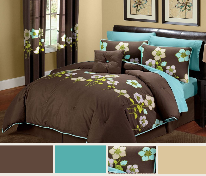 turquoise and brown bedroom ideas home decorators collection