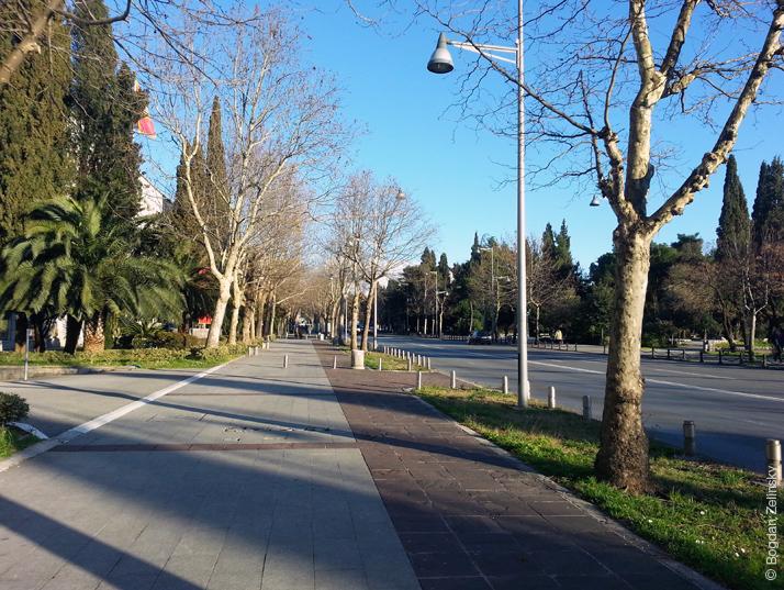 Вулиця Подгориці