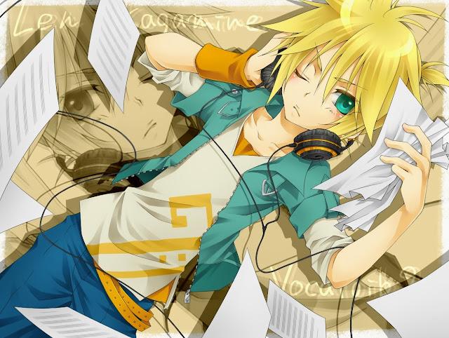anime buy,len kagamine,anime wallpaper