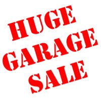 Garage sale 8th August 2015