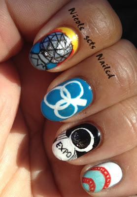 Expo 86' Nail Art