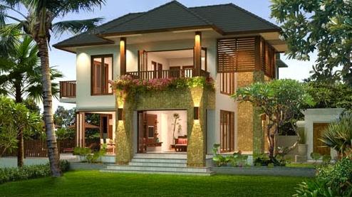 Contoh Rumah Bali Modern Minimalis Terbaru