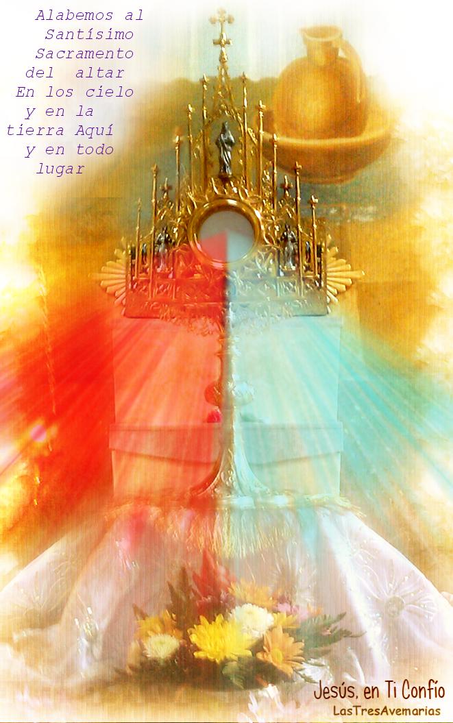 imagen de jesus en la custodia