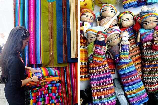 Guatemalan textiles, worry doles, handmade Central American textiles, woven ethnic, wandering style, travel inspiration
