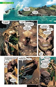 Exiled King of Atlantis, Atlan, takes the gold of legacy in Aquaman and the Others one