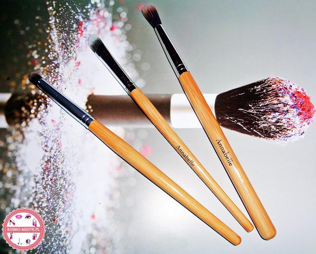 Zestaw trzech pędzli do makijażu oczu - Annabelle Minerals