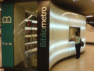 bibliómetro Madrid metro