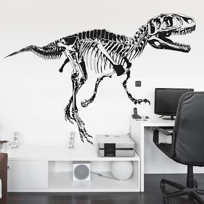 Vinilo Decorativo Huesos de Dinosaurio