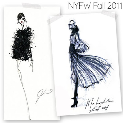Fabulous doodles fashion illustration blog by brooke hagel for Jason wu fashion designer