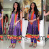 Gracy Singh in Purple Color Salwar