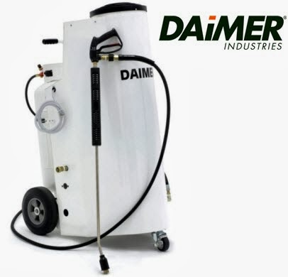 pool tile cleaning machine