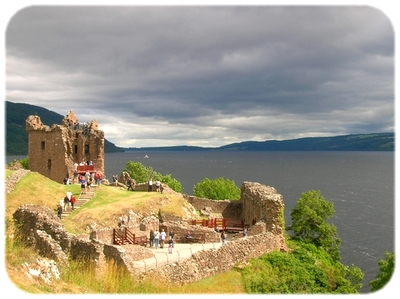 The Ruins of Urquhart Castle