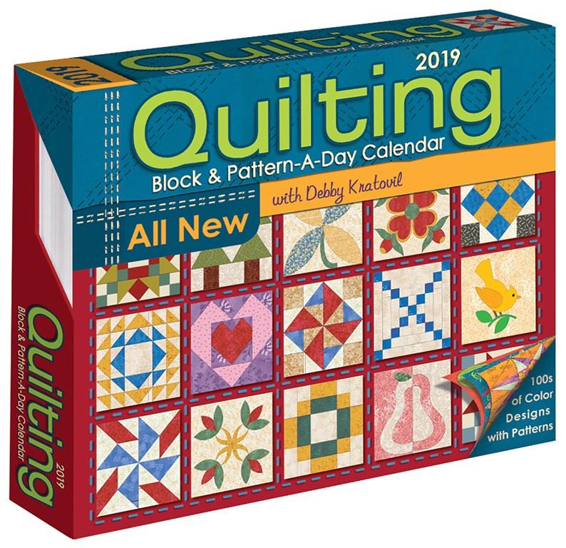 2019 Quilting Calendar