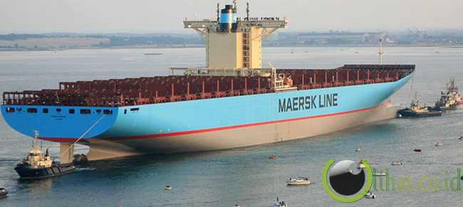 Emma Maersk: Kapal kontainer terpanjang yang Pernah Ada