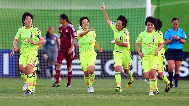 Copa Mundial Femenil Sub-17 Costa Rica 2014 - Semifinal: Venezuela vs. Japón | Ximinia