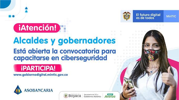 Alcaldes de Boyacá se capacitarán ante posibles ataques cibernéticos