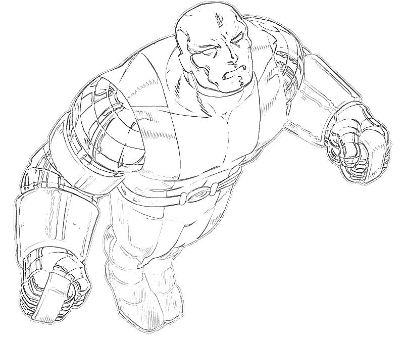 printable-marvel-ultimate-alliance-2-colossus-action-coloring-pages