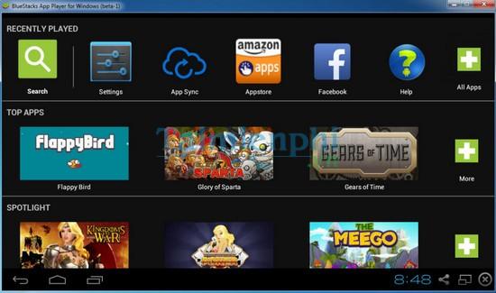 Hướng dẫn cài đặt BlueStacks phần mềm giả lập Android trên PC Windows 7/8.1/10