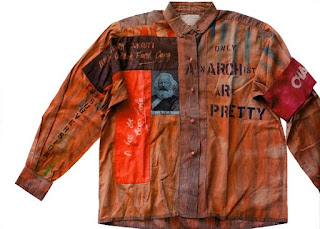 Malcolm McLaren Vivienne Westwood Seditionaries Anarchy Shirt - www.anothermag.com