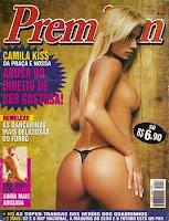Confira as fotos da musa da Praça é Nossa, Camila Kiss, Capa da Sexy Premium de novembro de 2004!