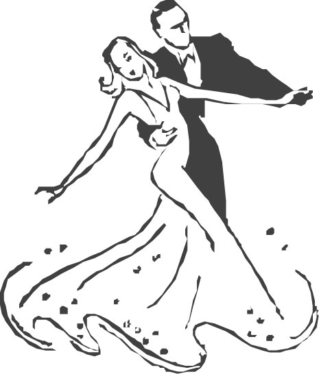 ballroom dancer coloring pages - photo#28
