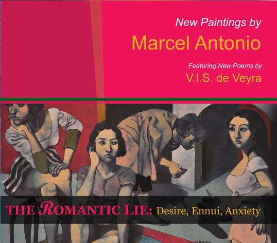 Desire, Ennui, Anxiety: Marcel Antonio at Yuchengco Museum, Feb 6 to 25,2012