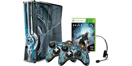 Edição limitada do Xbox 360 para Halo 4