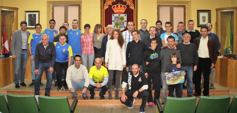 el circuito de carreras pedestres entregó sus premios en Nava