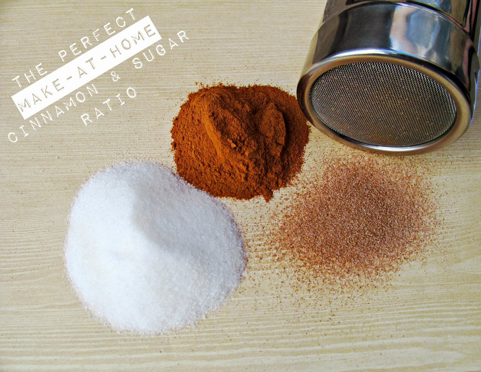 Make your own Cinnamon & Sugar! Learn how here!