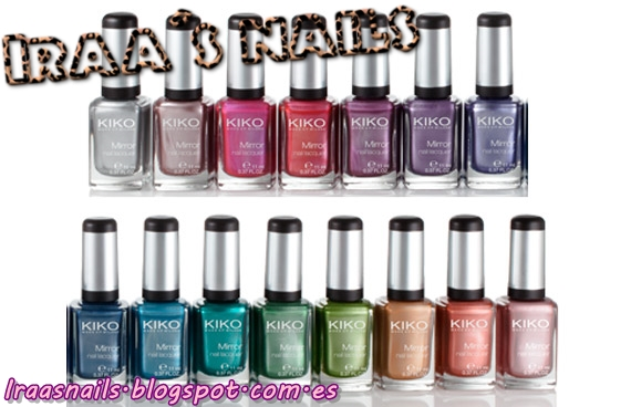 Iraa s nails review alternativa low cost kiko mirror suggar mat nail laquer - Pintaunas efecto espejo kiko ...