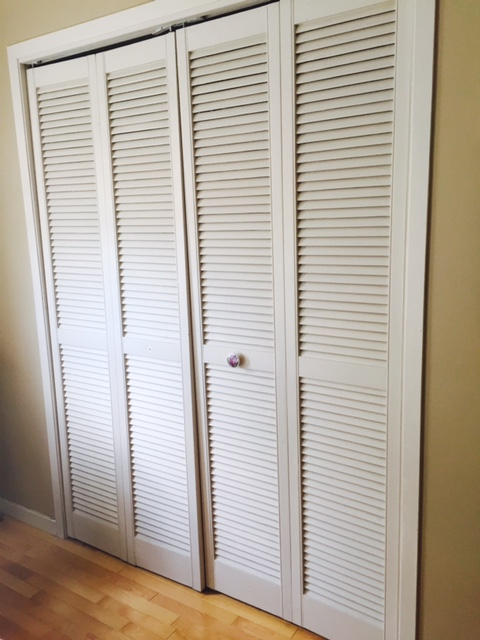 What to do with louvered doors & Designing Home: What to do with louvered doors
