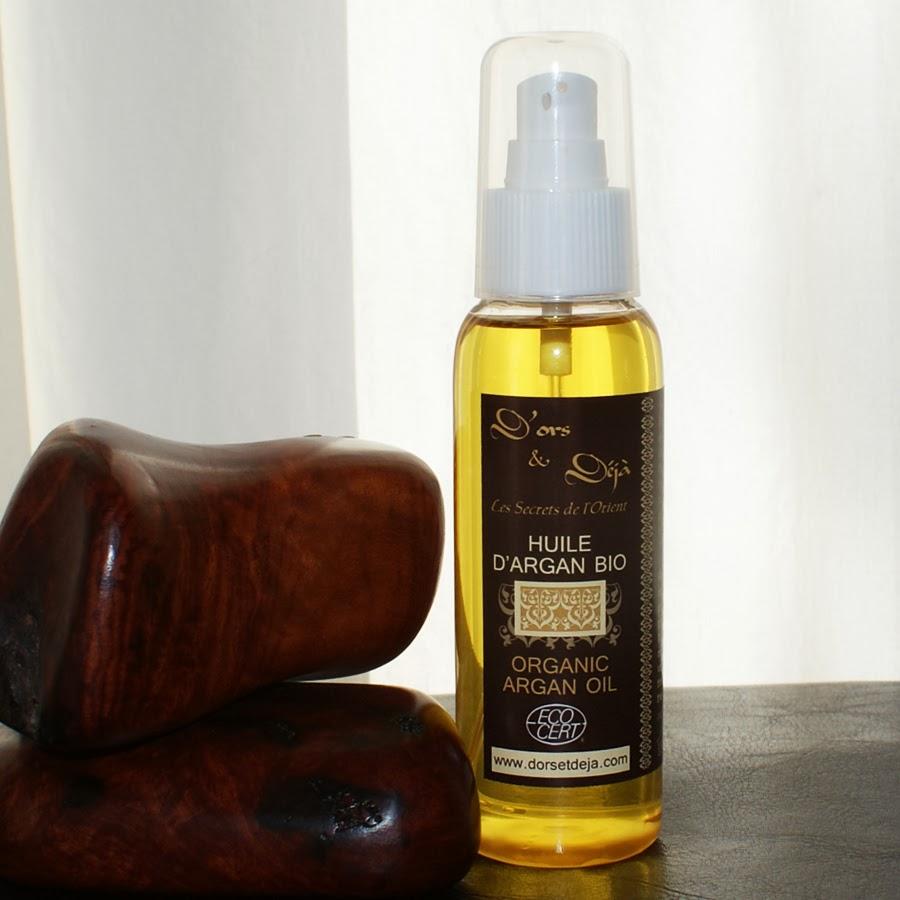 une huile d'argan certifiée Ecocert