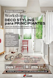 WORKSHOP DECO STYLING en CORDOBA