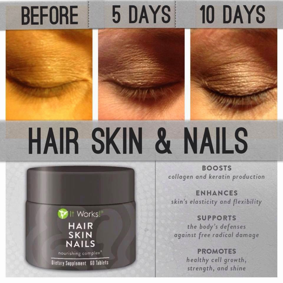 Love your body Love you life It Works: Hair Skin Nails