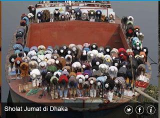 inovLy media : Sholat Jumat di Dhaka