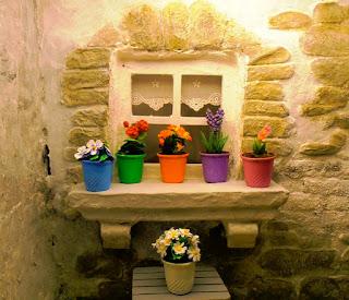 flores casa de muñecas