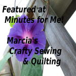 Featured on Marcias Crafty Sewing