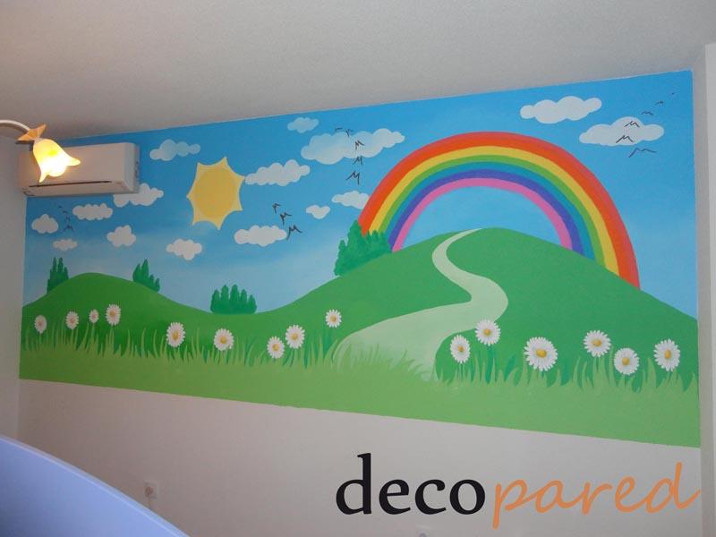 Decopared murales para bebes - Murales pintados en pared ...