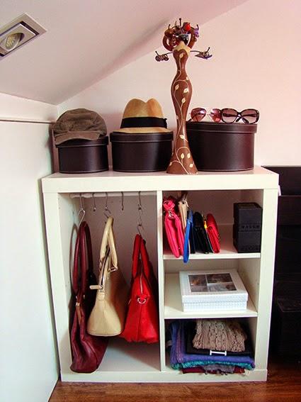 Un armario auxiliar para guardar los bolsos con expedit mi llave allen - La casa de los bolsos ...