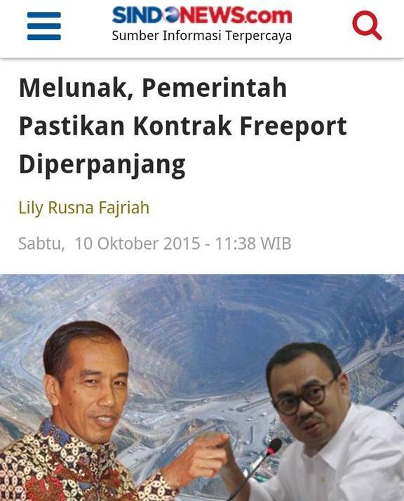 http://ekbis.sindonews.com/read/1051953/34/melunak-pemerintah-pastikan-kontrak-freeport-diperpanjang-1444451865