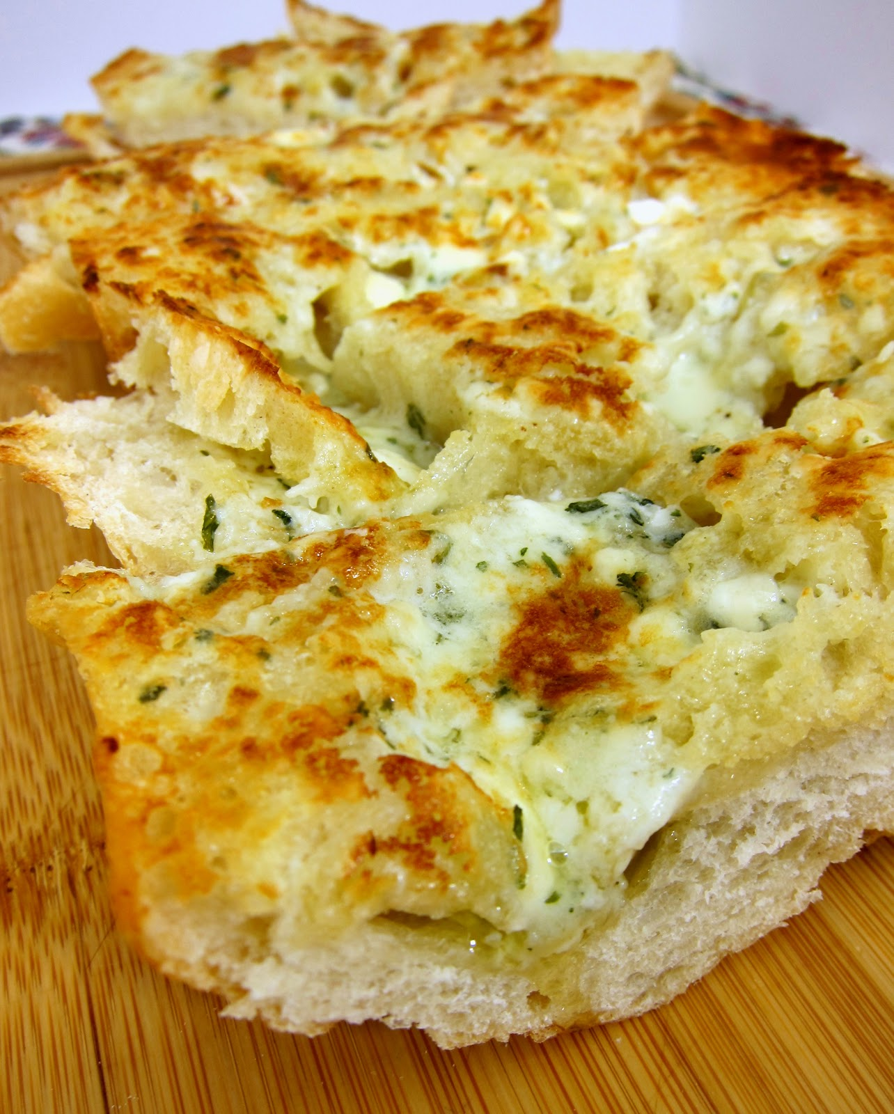 Gorgonzola Garlic Bread | Plain Chicken