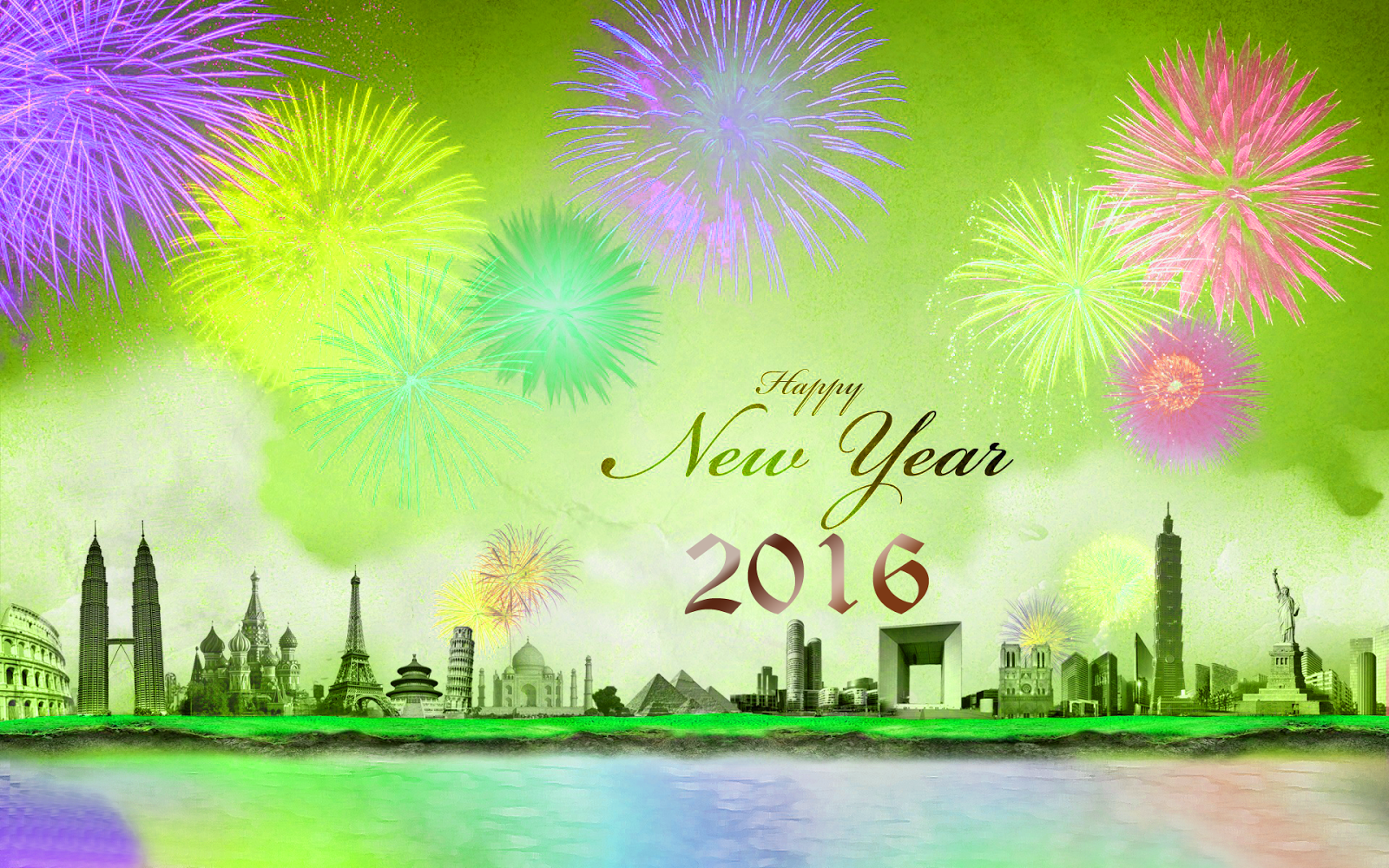 Happy New Year 2016 Messagessms In English Happy New Year 2016