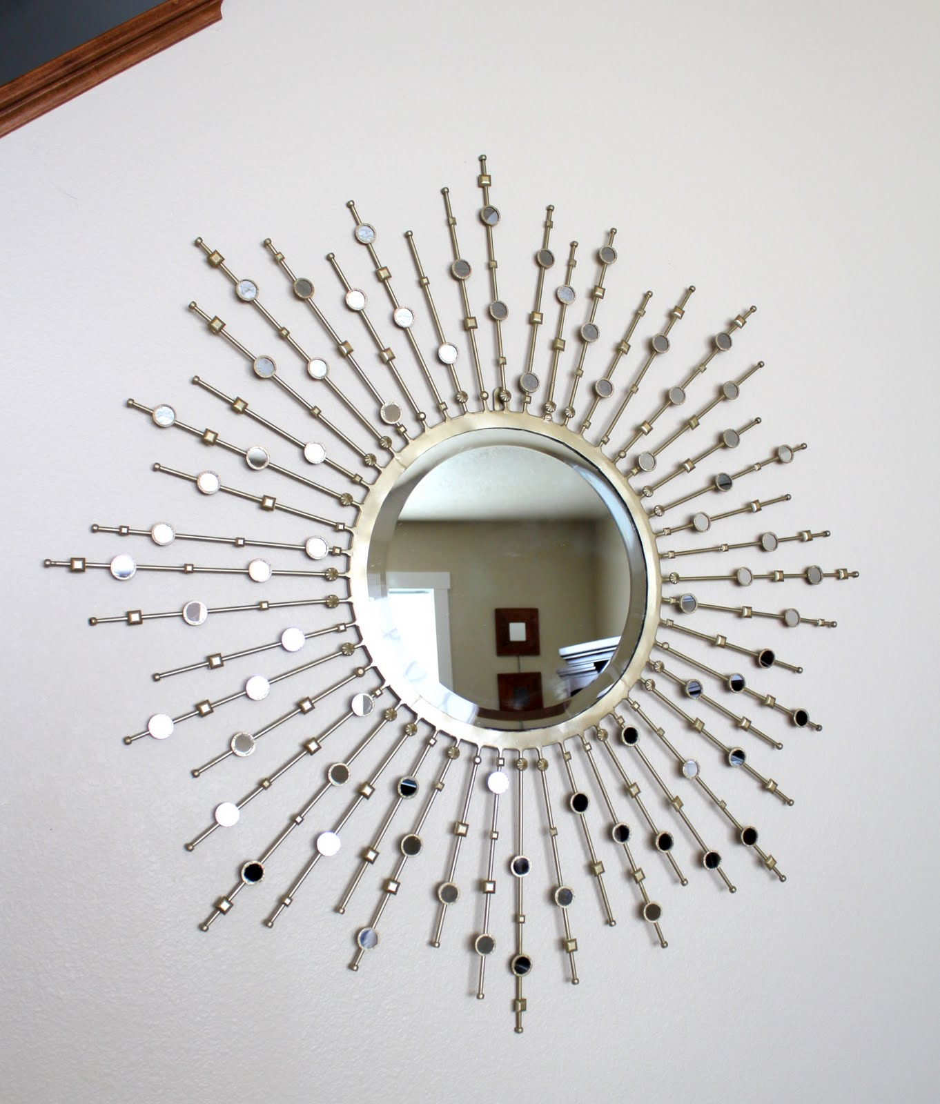 Crafty Sisters Sunburst Mirror Embellished