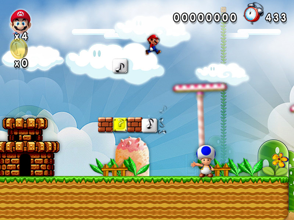 New Super Mario Forever Screenshot 3