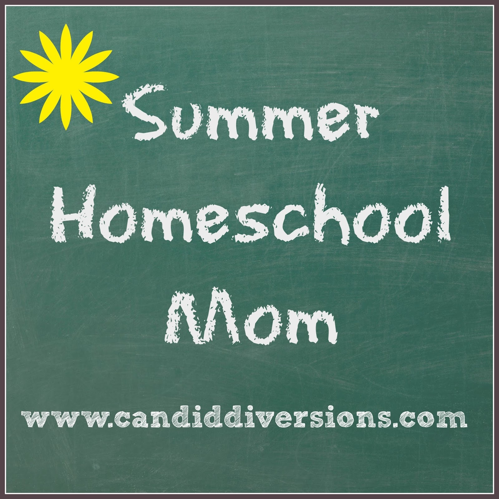 http://www.candiddiversions.com/2013/07/summer-homeschool-mom.html